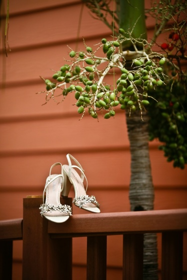 Wedding shoes in Cuba