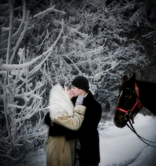 Winter romantic fairytale