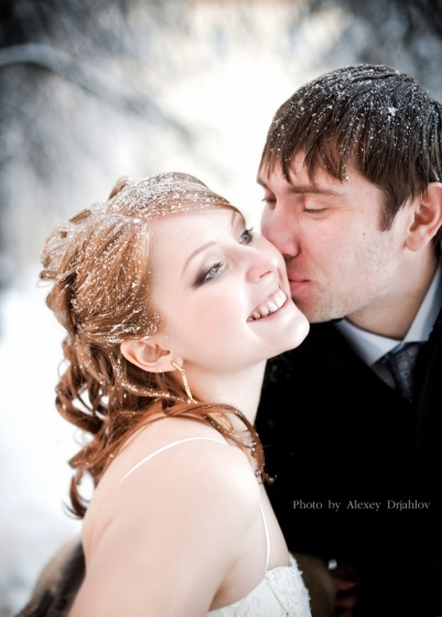 Wedding in winter