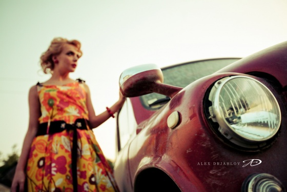 Pin up photosession