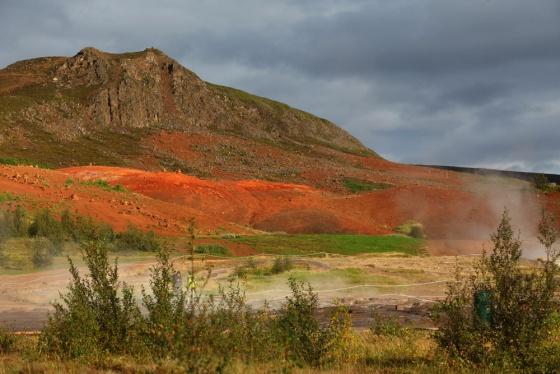 Фотограф в Исландии