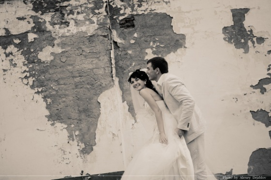 Wedding photosession of Egor and Olga