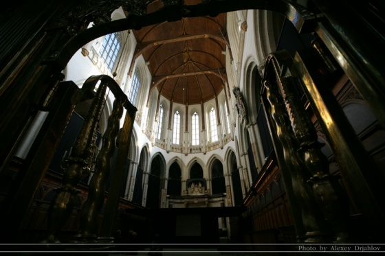 Interior of Nieuwe Kerk (New church)