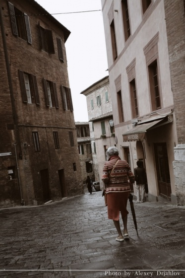 Streets of Siena. Italy.