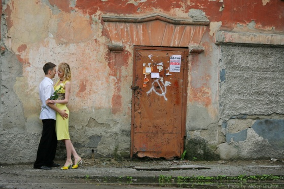 Wedding anniversary and Love story in Novosibirsk