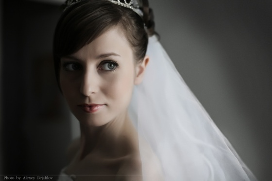 Portrait of the bride. Omsk