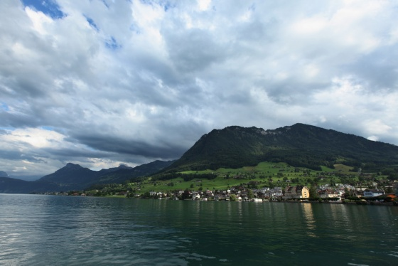 Lucerne lake. Switzerland