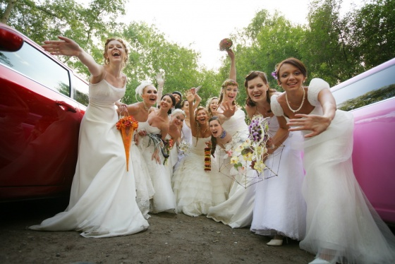 Bride's day in Novosibirsk