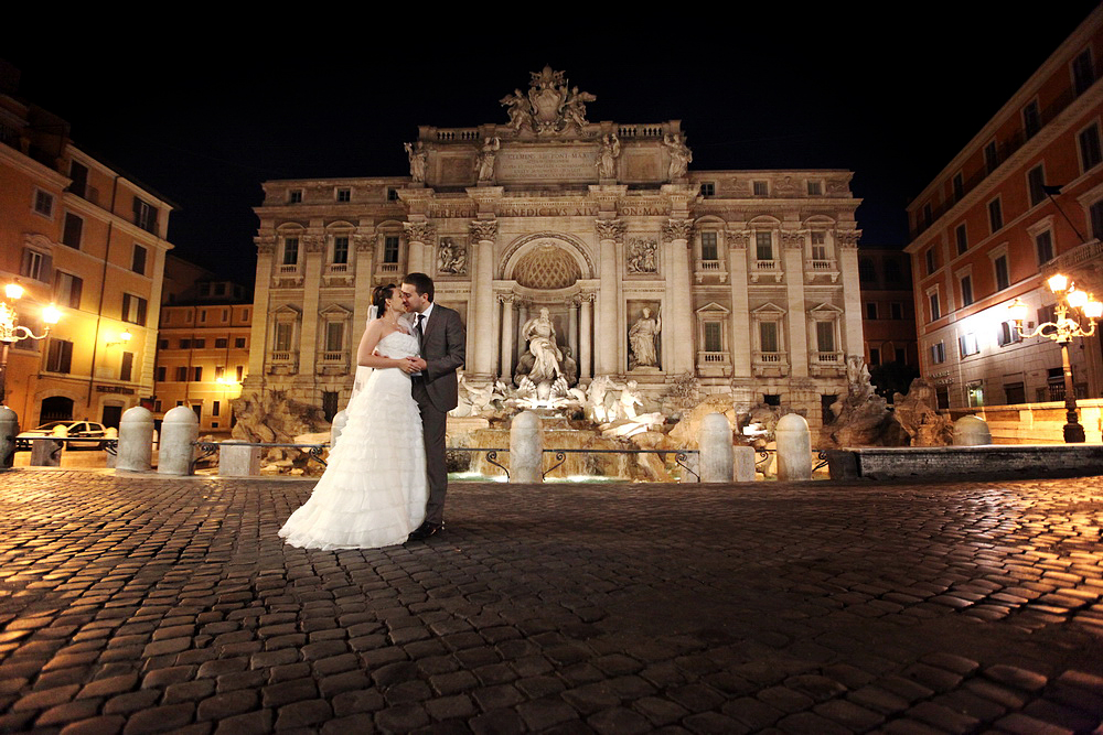 Rome wedding photo