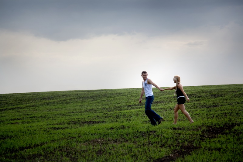 Love story. Seashore, fields. Alexey Drjahlov photographer