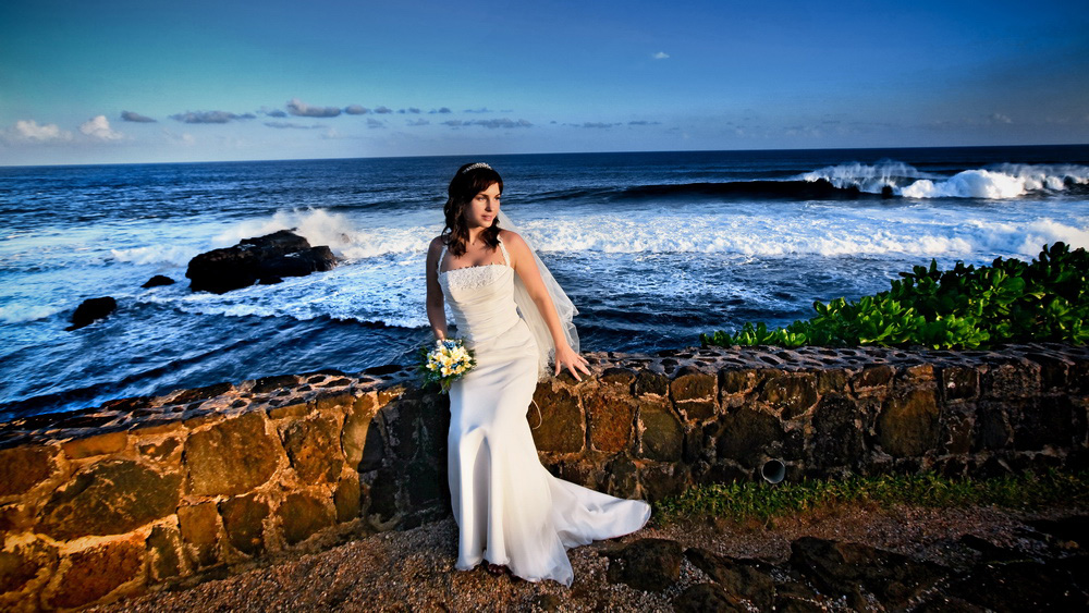 Wedding photosession in Mauritius
